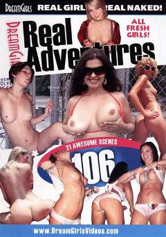 "Adult entertainment movie ""Real Adventures 106"" starring Brandon (f), Leigh Livingston & Haley. Produced by Dream Girls."