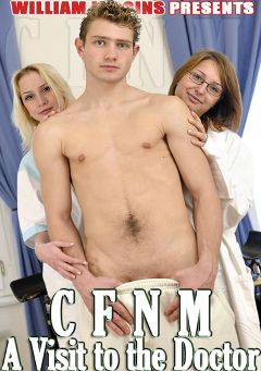 "Adult entertainment movie ""CFNM A Visit To The Doctor"" starring Stany & Mirek Benes. Produced by William Higgins."