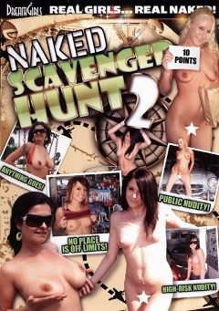 "Adult entertainment movie ""Naked Scavenger Hunt 2"" starring Madonna Don, Riley (f) & Brandon (f). Produced by Dream Girls."