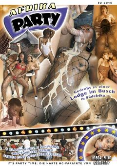 "Adult entertainment movie ""Afrika Party"". Produced by MEGA-FILM."