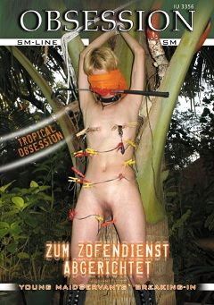 "Adult entertainment movie ""Zum Zofendienst Abgerichtet"" starring Sir Bernard. Produced by MEGA-FILM."