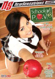 "Featured Studio - New Sensations presents the adult entertainment movie ""Schoolgirl P.O.V. 3""."