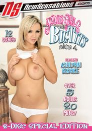 "Featured Star - Ashlynn Brooke presents the adult entertainment movie ""Young Girls With Big Tits 4""."