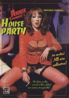 "Adult entertainment movie ""Annie Sprinkle's House Party"" starring Annie Sprinkle. Produced by Historic Erotica."