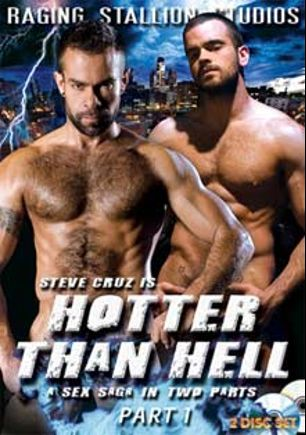 Hotter Than Hell, starring Alexy Tyler, Steve Cruz, Tristan Phoenix, RJ Danvers, Luke Hass, Logan McCree, Scott Tanner, Ricky Sinz, Dak Ramsey, Damien Crosse and Tober Brandt, produced by Falcon Studios Group and Raging Stallion Studios.