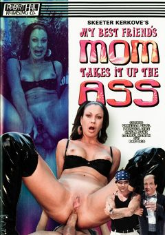 "Adult entertainment movie ""My Best Friend's Mom Takes It Up The Ass"" starring Vanessa Videl, Porscha Ride & Kayla Synz. Produced by Robert Hill Releasing Co.."