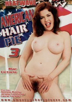 "Adult entertainment movie ""American Hair Pie 3"" starring Mae Victoria, Jersey Cummings & Laurie Vargas. Produced by Heatwave Raw."