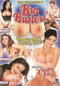 "Adult entertainment movie ""Bra Busters 6"" starring Christina Jolie, Dennis Dafoe & Klarissa Kream. Produced by Blue Coyote Pictures."