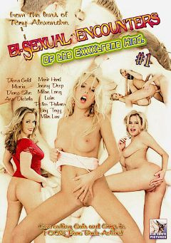 "Adult entertainment movie ""Bi-Sexual Encounters Of The Exxxtreme Kind"" starring Anastazie, Diana Gold & Diana Lion. Produced by Blue Coyote Pictures."
