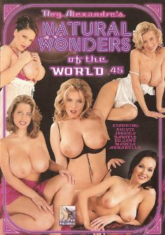 "Adult entertainment movie ""Natural Wonders Of The World 45"" starring Jessica (III), Annabelle (f) & Anastasia Devine. Produced by Blue Coyote Pictures."
