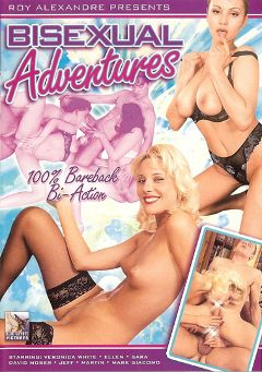 "Adult entertainment movie ""BiSexual Adventures"" starring Veronica White, Jessica May & Paulo. Produced by Blue Coyote Pictures."
