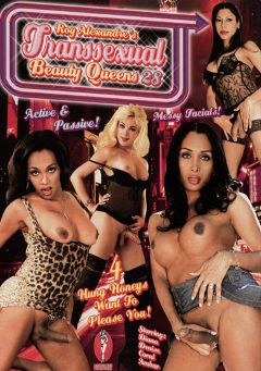 "Adult entertainment movie ""Transsexual Beauty Queens 28"" starring Coral (o), Denise (o) & Ambar. Produced by Androgeny Production."