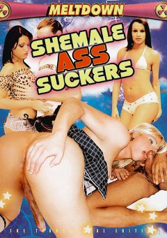"Adult entertainment movie ""Shemale Ass Suckers"" starring Mona L. Morgan, Rafaelly Bubenstay & Paulette Lawer. Produced by Meltdown."