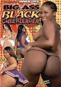 "Adult entertainment movie ""Woodburn's Inner City Big Ass Black Cheerleader Search"" starring Hershey Baby, Dominique Pleasures & Talishious. Produced by Woodburn Productions."