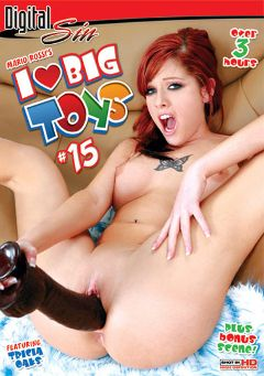 "Adult entertainment movie ""I Love Big Toys 15"" starring Tricia Oaks, Rhylee Richards & Kayme Kai. Produced by Digital Sin."