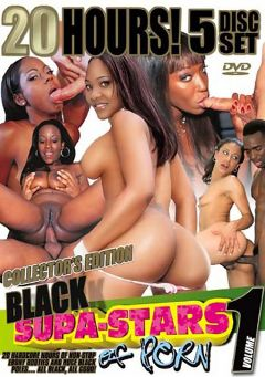 "Adult entertainment movie ""Black Supa-Stars Of Porn Part 3"" starring Kiwi, Obsession & Paige La Salle. Produced by Metro Media Entertainment."