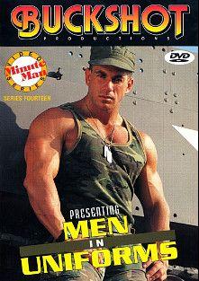 Minute Man Series 14: Men In Uniforms, starring Ed Dinakos, Ryan Hayward, Hal Rodman, Jake Tanner and Joe Falco, produced by COLT Studio Group and Buckshot Productions.