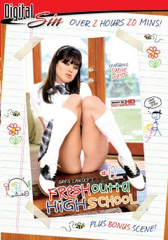 "Adult entertainment movie ""Fresh Outta High School 12"" starring Sadie West, Lilly Kingston & Juelz Ventura. Produced by Digital Sin."