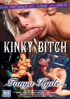 "Adult entertainment movie ""Kinky Bitch"" starring Michelle B., Strap on Jane & Ben Kelly. Produced by Harmony Films Ltd.."