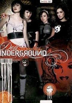"Adult entertainment movie ""The Doll Underground"" starring Reagan Maddux, Pixie Pearl & Presley Maddox. Produced by Vivid Entertainment."