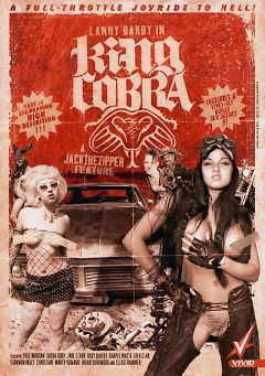"Adult entertainment movie ""King Cobra"" starring Page Morgan, Lanny Barbie & Chapel Waste. Produced by Vivid Entertainment."