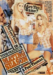 "Seasonal Picks presents the adult entertainment movie ""Mating Season""."