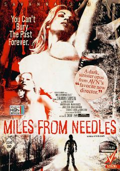"Adult entertainment movie ""Miles From Needles"" starring Kimberly Kane, James Deen & April Blossom. Produced by Vivid Entertainment."