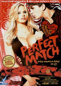 "Adult entertainment movie ""Perfect Match"" starring Briana Banks, Tiffany Rayne & Courtney Simpson. Produced by Red Light District."