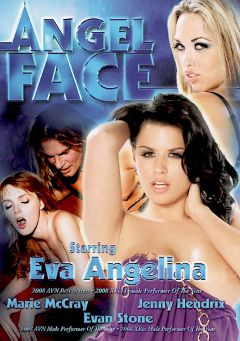 "Adult entertainment movie ""Angel Face"" starring Marie McCray, Jenny Hendrix & Eva Angelina. Produced by VCX Home Of The Classics."