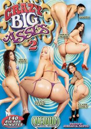 "Featured Star - Gianna Michaels presents the adult entertainment movie ""Crazy Big Asses 2""."
