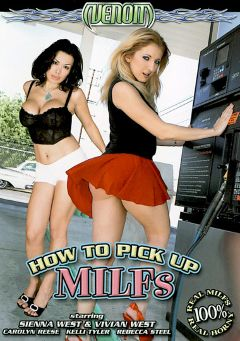 "Adult entertainment movie ""How To Pick Up Milfs"" starring Sienna West, Vivian West & Carolyn Reese. Produced by Venom Digital Media."