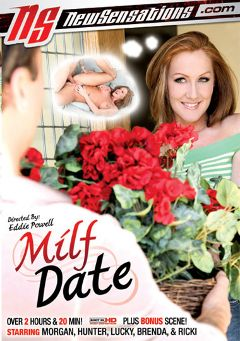 "Adult entertainment movie ""Milf Date"" starring Morgan Reigns, Lucky Benton & Hunter Bryce. Produced by New Sensations."