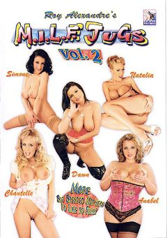 "Adult entertainment movie ""M.I.L.F. Jugs 2"" starring Dawn, Chantelle Stevens & Simone *. Produced by Blue Coyote Pictures."