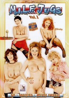 "Adult entertainment movie ""M.I.L.F. Jugs"" starring Shirley (f), Constance Devil & Anne. Produced by Blue Coyote Pictures."