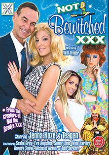 Not Bewitched XXX, starring Teagan Presley, Jenna Haze, Britney Amber, Madison Ivy, Kelly Skyline, James Bartholet, Winter Sky, Aaron Wilcox, Dane Cross, Candace Nicole, Daisy Layne, Michelle Avanti, Marli Jane, Sasha Grey, Nathan Threat, Sunny Lane, James Deen, Eva Angelina, Jack Lawrence, Dino Bravo, Aurora Snow, Mike Horner, Nina Hartley and Ron Jeremy, produced by X Play and Adam & Eve.