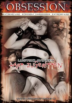 "Adult entertainment movie ""Obsession: Hart Zugeritten"" starring Jana. Produced by MEGA-FILM."