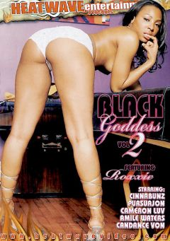 "Adult entertainment movie ""Black Goddess 2"" starring Roxy Reynolds, Nells (m) & Cameron Luv. Produced by Heatwave Entertainment."