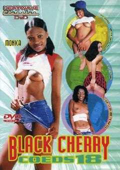 "Adult entertainment movie ""Black Cherry Coeds 18"" starring Ice La Fox, Monica & Cashmere Delight. Produced by Heatwave Classics."