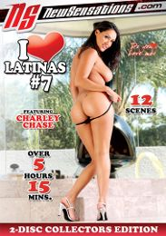 """Featured Series - I Love... presents the adult entertainment movie """"I Love Latinas 7""""."""