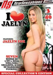 """Featured Series - I Love... presents the adult entertainment movie """"I Love Jaelyn""""."""