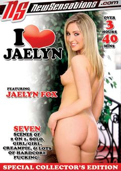 "Adult entertainment movie ""I Love Jaelyn"" starring Jaelyn Fox, Scarlett Fay & Elli Foxx. Produced by New Sensations."