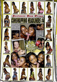 "Adult entertainment movie ""Cumswapping Headliners 4"" starring Suzy Secret, Adicktion & Kyria Banxxx. Produced by Heatwave Raw."