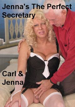 "Adult entertainment movie ""Jenna's The Perfect Secretary"" starring Jenna (TS - Hot Clits) & Carl. Produced by Hot Shemales Video."