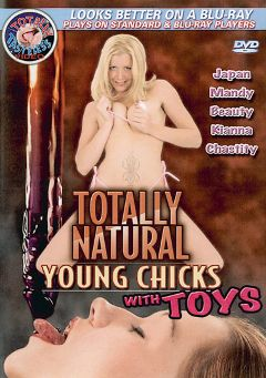 "Adult entertainment movie ""Totally Natural Young Chicks With Toys"" starring Smokie Flame, Trinity James & Jezeree Robs. Produced by Totally Tasteless Video."