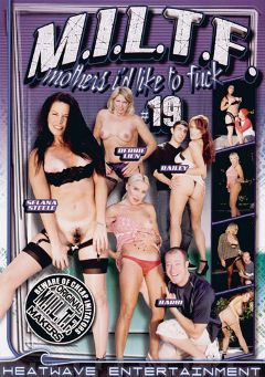 "Adult entertainment movie ""M.I.L.T.F. Mothers I'd Like To Fuck 19"" starring Xena (f), Barbi & Bailey O'Dare. Produced by Heatwave Entertainment."