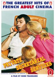 """Just Added presents the adult entertainment movie """"Private Secretarial Services - French""""."""