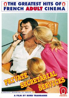 "Adult entertainment movie ""Private Secretarial Services - French"" starring Elisabeth Buré, Laura Claire & Richard Lemieuvre. Produced by ALPHA-FRANCE."
