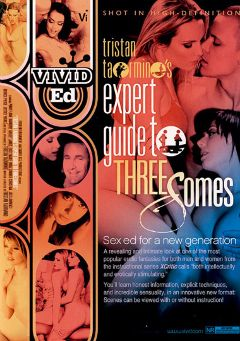 "Adult entertainment movie ""Expert Guide To Threesomes"" starring Hailey James, India Summer & Harmony Rose. Produced by Vivid Ed."