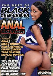 """Just Added presents the adult entertainment movie """"The Best Of Black Cheerleader Search: Anal Edition""""."""