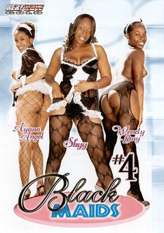 "Adult entertainment movie ""Black Maids 4"" starring Wendy Day, Skyy Black & Ayana Angel. Produced by Heatwave Entertainment."